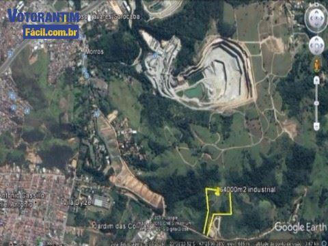 Área industrial em Votorantim (SP) com 64.000m² total, ótima oportunidade!